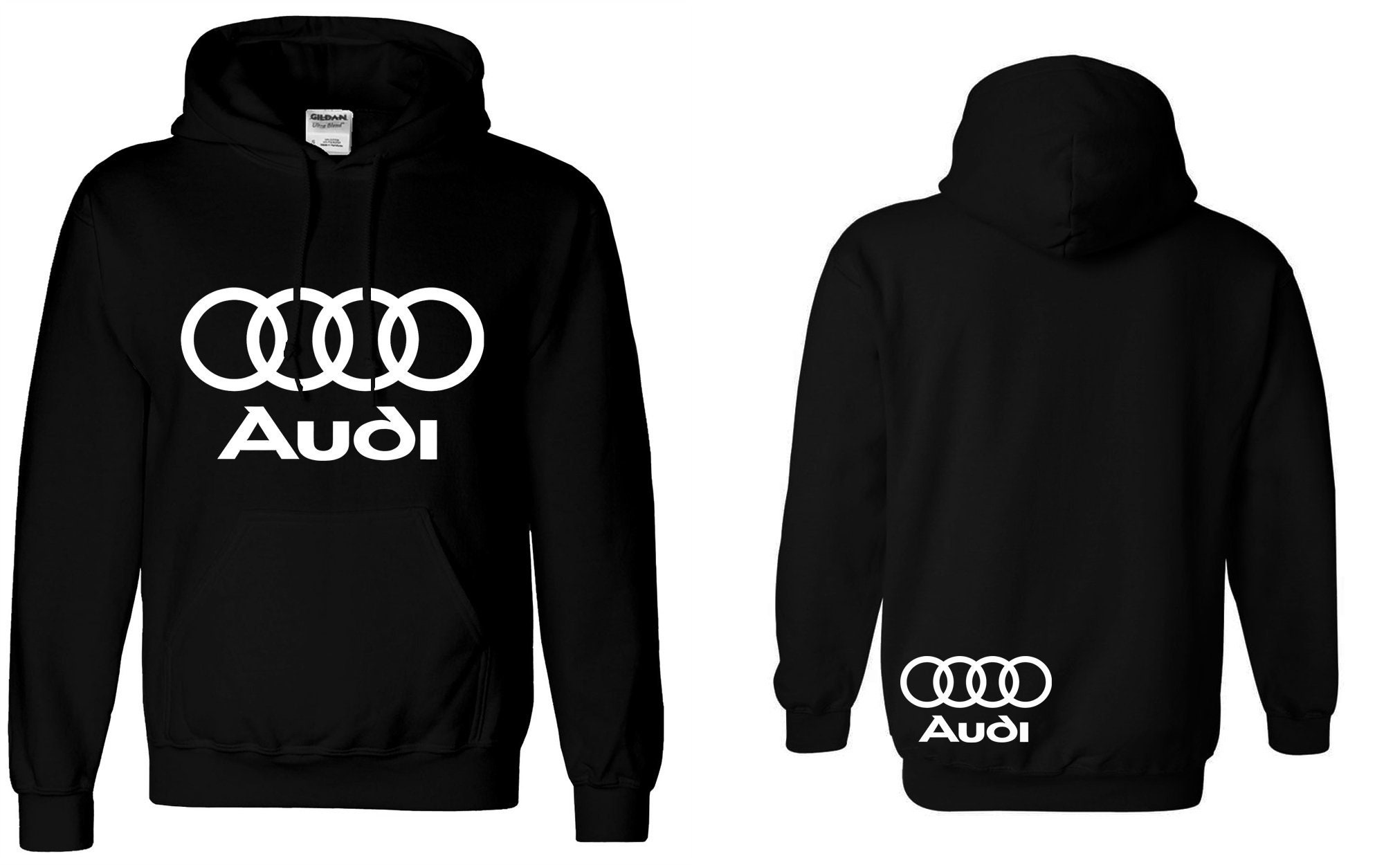 Audi Sweat Sweat Audi à capuche de course voitures Dope allemand JDM A4 A3  pull unisexe a204caaa823f