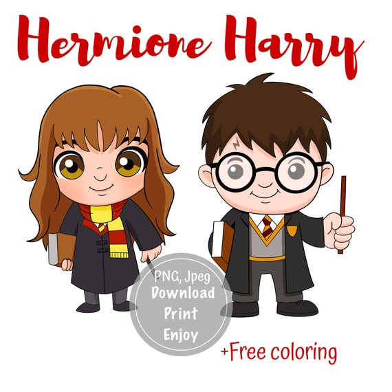 Png Harry Potter Hermione Baby Clipart Printable Png Jpeg Etsy