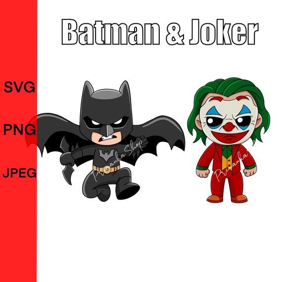 Baby New Joker And Batman Svg Layered The Joker Movie Batman Etsy
