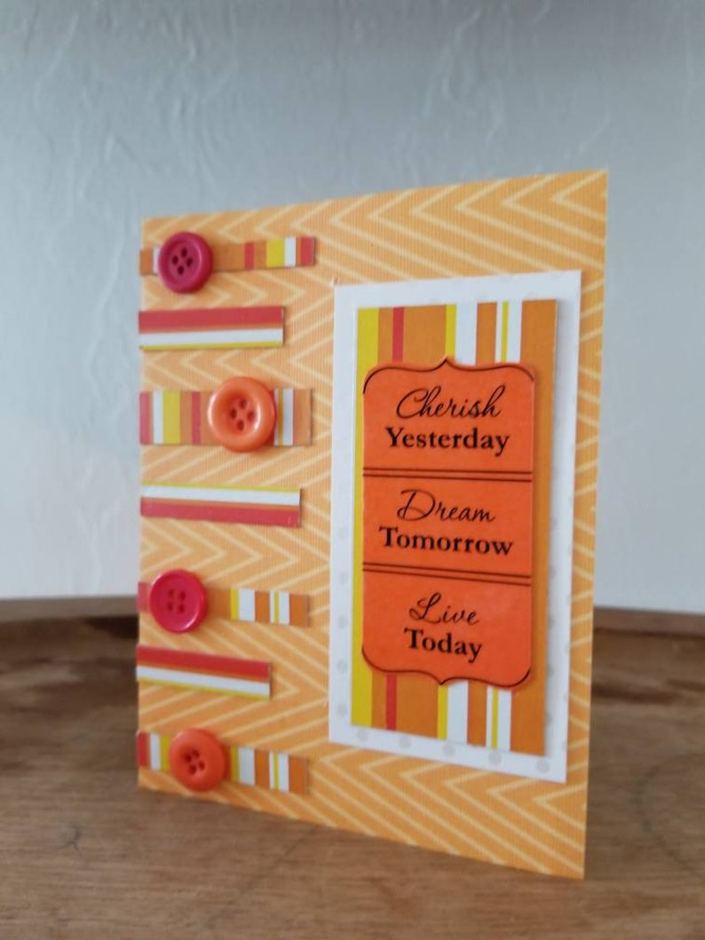 Encouragement Orange Set