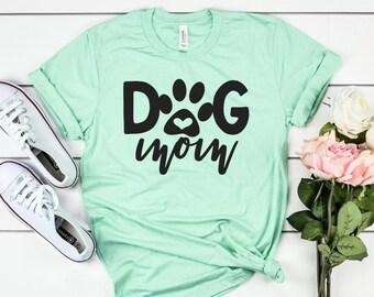 106384cea Dog mom shirt | Etsy