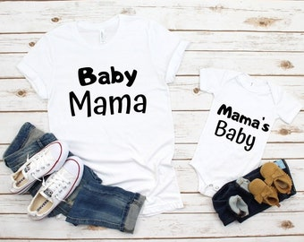 2e923d2245 Baby Mama Mama s Baby Shirts Mommy and Me Outfits