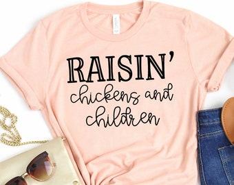 Funny Rooster Gift Farm Mother Tshirt Mom Life Shirt Mothers Day Shirt Mama Hen Shirt Single Mom Shirt Womens Shirt Chicken Mom Shirt