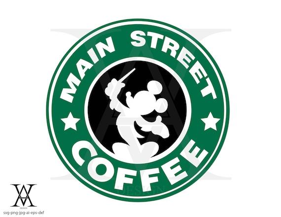 Disney Logo Starbuck Vector Silhouette Instant Download Etsy