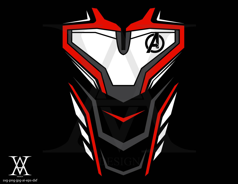 quantum suit avengers end game, vector, clipart  INSTANT DOWNLOAD,  svg-png-eps-dxf-ai-jpg