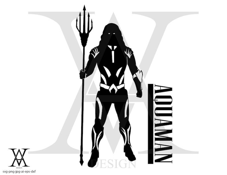 036e18fb0 Justice league aquaman vector. INSTANT DOWNLOAD   Etsy