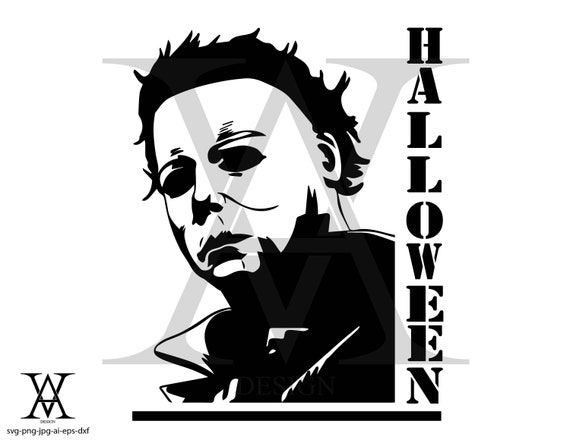 Michael Myers Halloween Vector Instant Download Etsy