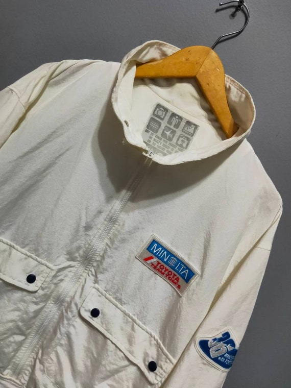 Vintage F-1 Minolta Toyota team Tom's jacket - image 1