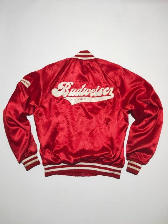 vintage 90s Budweiser Bomber jacket
