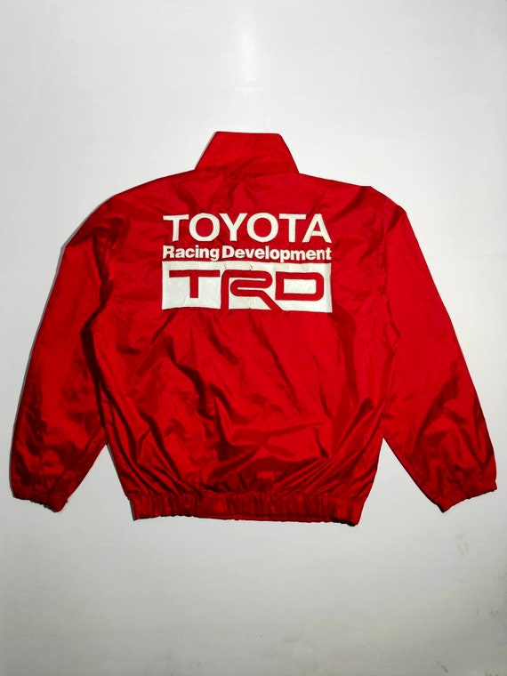 Vintage Toyota racing development TRD racing jacke
