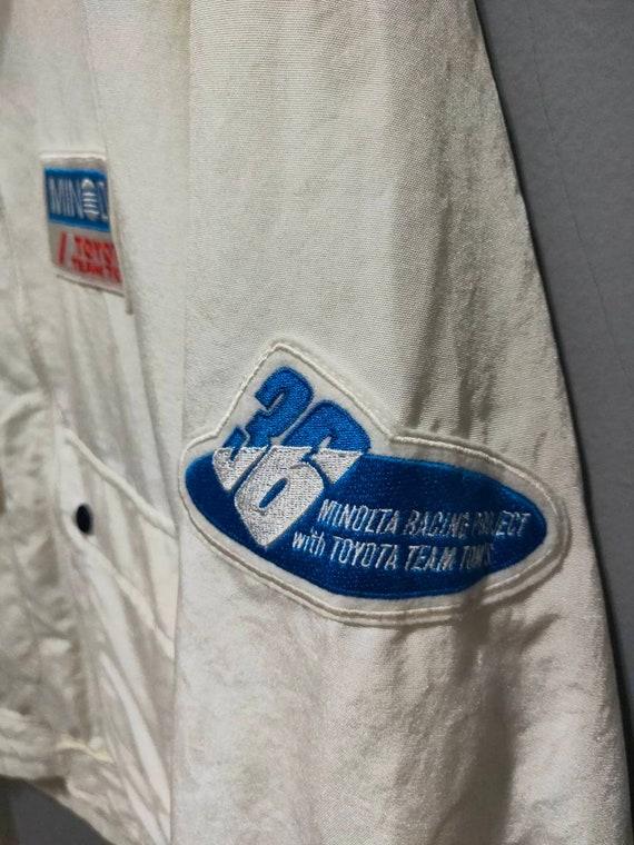 Vintage F-1 Minolta Toyota team Tom's jacket - image 7