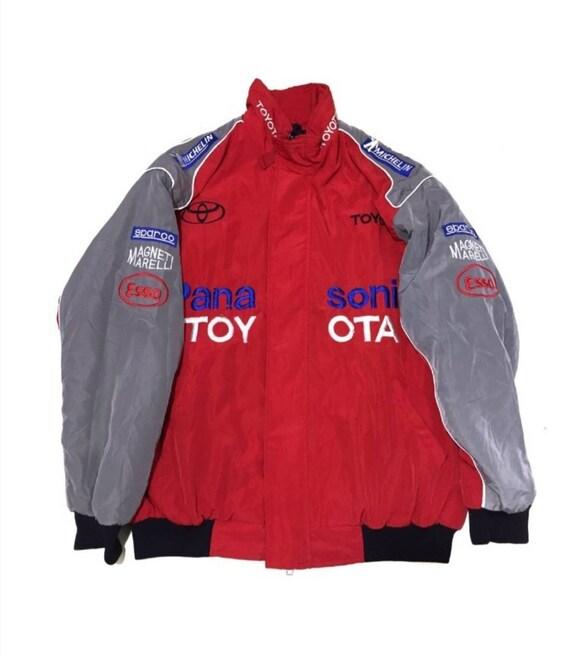 Vtg Toyota racing panasonic jacket