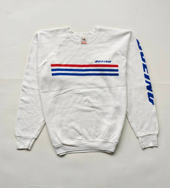 90s crewneck BOEING tag fruit of the loom