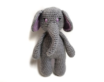 Cuddle Me Elephant crochet pattern - Amigurumi Today | 270x340