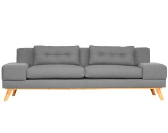 Delta Mid Century Modern Sofa