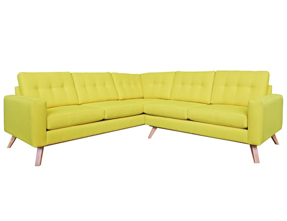 Surprising Amber Mid Century Modern Sectional Inzonedesignstudio Interior Chair Design Inzonedesignstudiocom