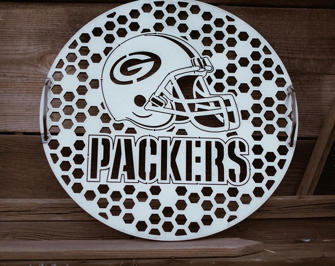 17.5 inch Personalized Weber Grill, weber grill, metal art, BBQ, football, metal sign, custom grill, monogramed bbq grill, bbq grill