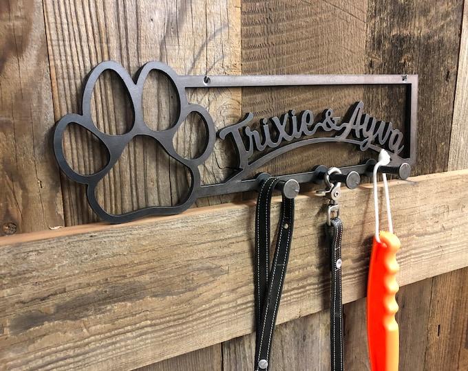 Personalized Hook, Dog Tag, Dog Mom, Fench Bull Dog, Labradoodle, Dog Leash, Dog Tag, Dog Collar, Cat Lover Gift, Dog Lover Gift, Leash Hook