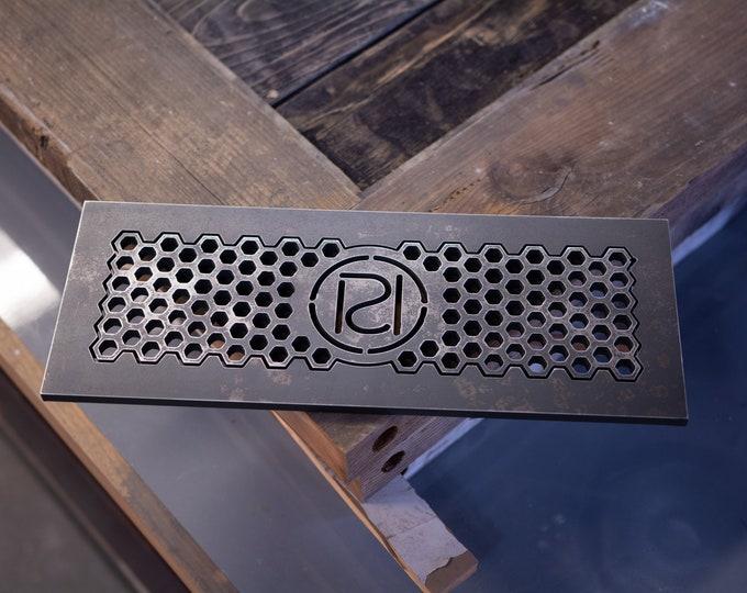 """home decor, 3/8"""" Thick steel custom flush mount floor registers"""