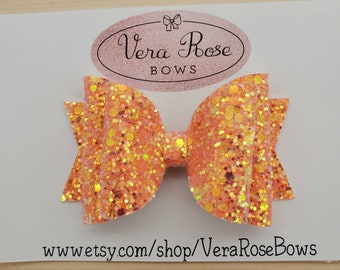 glitter bows april bows vera rose bows gifts Easter Collection spring bows Easter bows Handmade