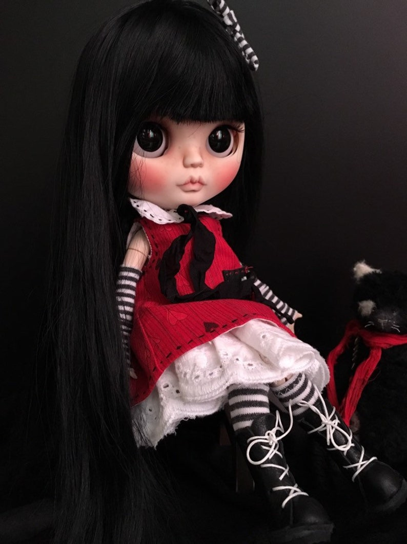 Custom Blythe Doll Stunning Fashion, Character, Play Dolls