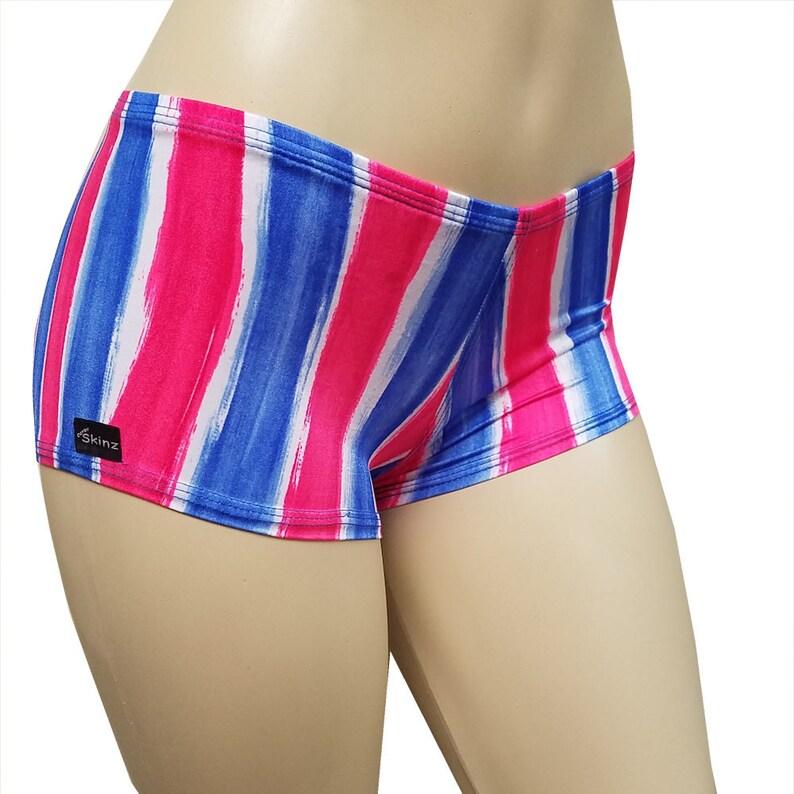 Shorts  DerbySkinz Americana  Booty Short  Spandex image 0