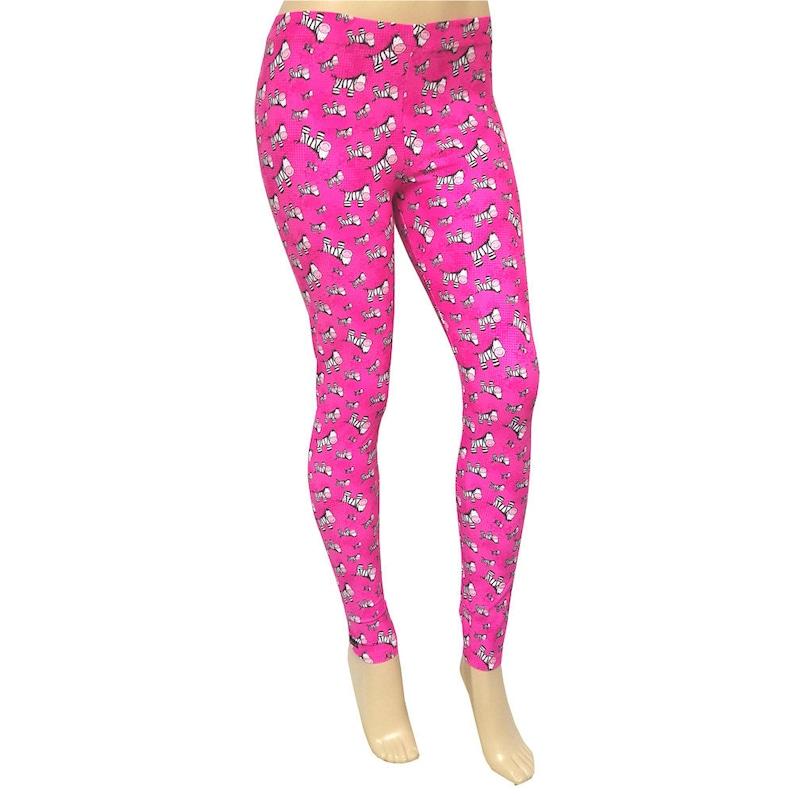 Large Sale Pink w Zebras Leggingz