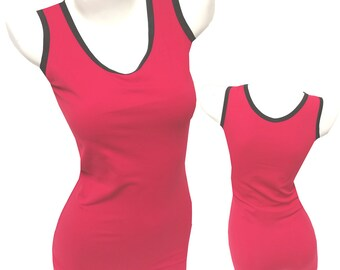 Singlets: Red with Black Trim - Wrestling, Cross-fit, Power Lifting, Workout