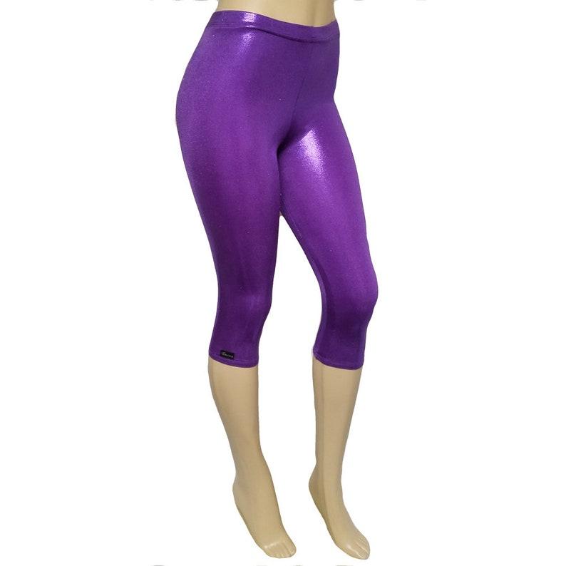 Sale Small  Capri: Shiny Purple image 0