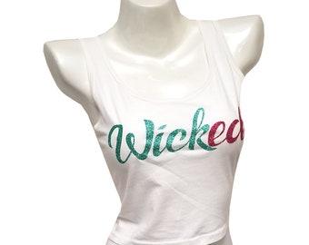 GRAPHIC TEE:  Wicked - color White