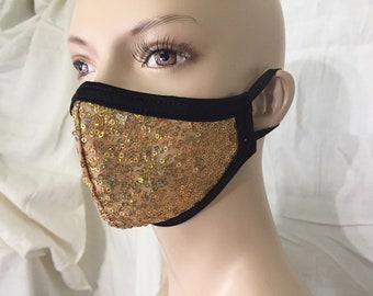 SEQUIN - 2 Piece -Sparkle Masks