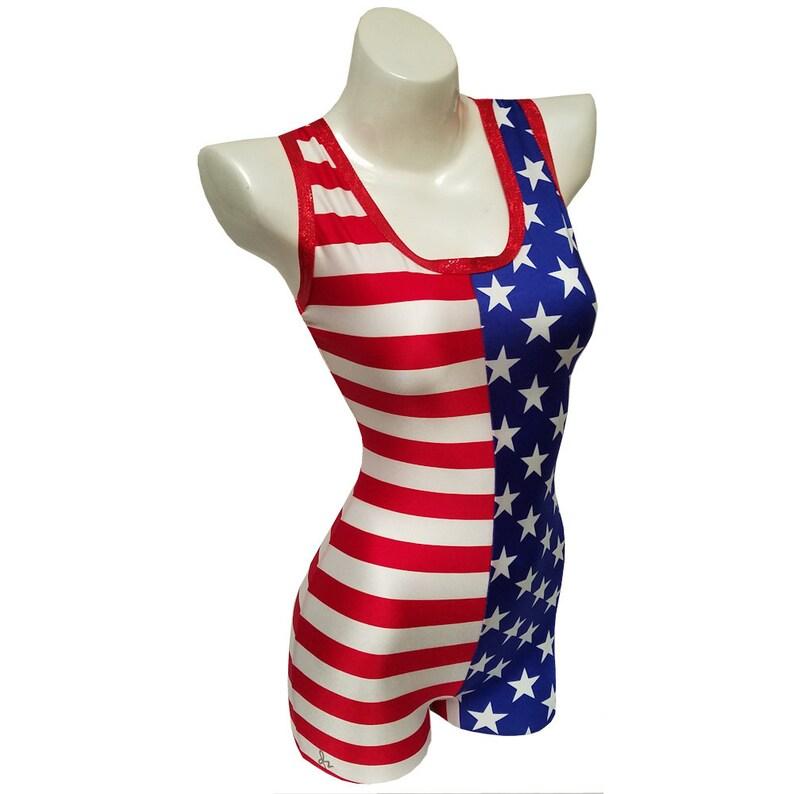 SINGLET  American Flag image 0