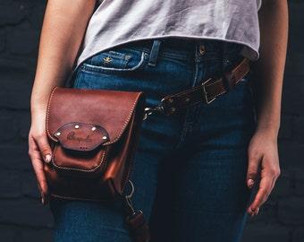 Thigh Bag For Woman Leather Thigh Bag Hip Bag Thigh Purse Woman Hip Bag leather Money Hip Holder Hip Bag leg Strap Leg Bag Leather