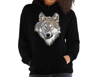 648c6be582b Wolf Hoodie , Wolf Gifts , Wolf Sweatshirt , Wolf Clothing , Wolf Hoodies ,  Wolves Hoodie , Animal Hoodie