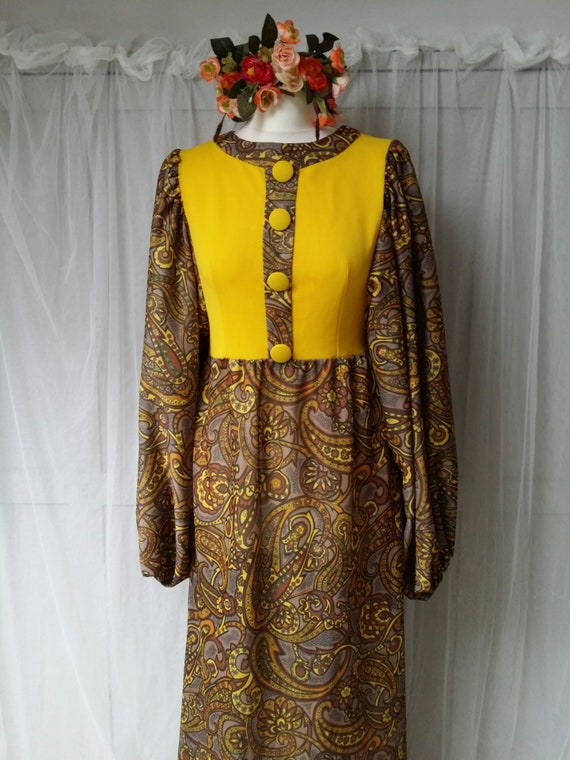 Epic Crazy Weird Funky Vintage 1960s Psychedelic … - image 4