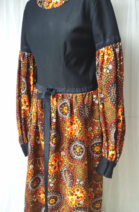 Totally Mad Vintage 1960s/70s Orange, Yellow and B