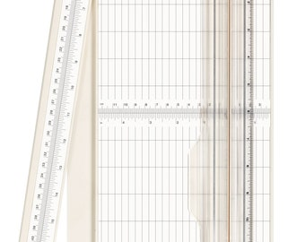 """3/""""X12/"""" Bira Craft paper trimmer with swing-out arm"""