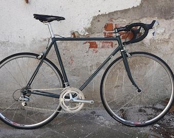 5c8edd92643 Vintage bike Campagnolo frame   Road bike cycling   Lightweight race bike    Italian steel frame   Classic bike   Short chainstay   70s 80s