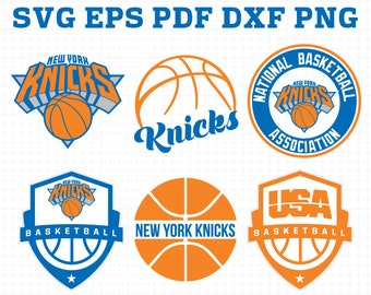 352a16017450 New York Knicks Svg Png Jpeg Dxf Eps Vector Files