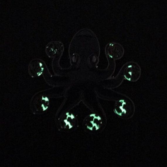 Just A Phase Octopus Moon Phase Cosmic Orange Variant 1.5 Enamel Pin
