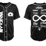 WAKAAN Black Jersey with White Piping