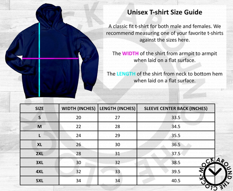 Gildan Pullover Hoodie 18500 Adult Size Guide Chart Table Shirt Jpeg Download Mockup Sweater Sweatshirt Shop Unisex Fit Mock Up Mens Womens