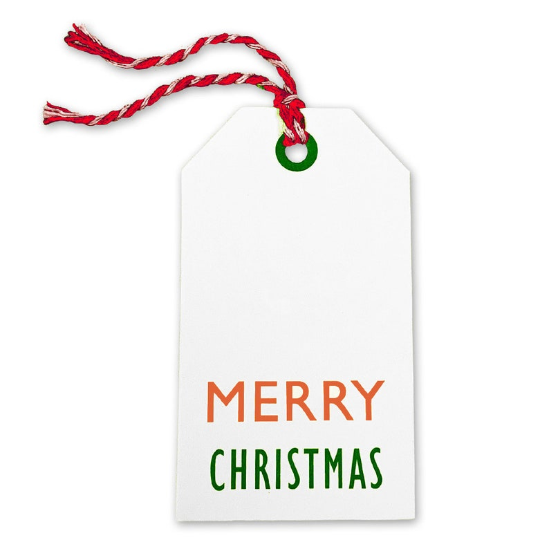 Xmas on White Kraft 25 PCS - RedWhite Baker/'s Twine Kraft Tags for Gift Wrapping and Labeling \u2026