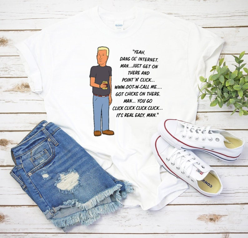 6719a19587cae Boomhauer Talks About The Internet King Of The Hill Shirt