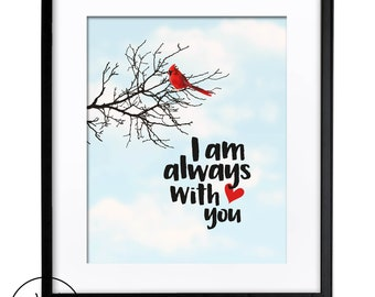 I Am Always With You Etsy