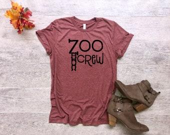 19b20a31 Zoo crew TShirt // Mom Shirt // Mom T Shirts // Mothers day gift // Cute  Funny Mom TShirts Design // Womens Shirts