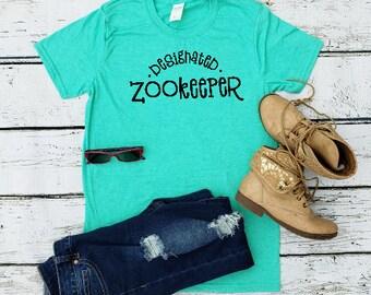 63116ad7 Designated Zookeeper TShirt // Mom Shirt // Mom T Shirts // Mothers day  gift // Cute Funny Mom TShirts Design // Womens Shirts