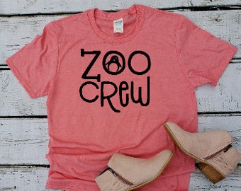 a4d28897 Zoo crew TShirt // Mom Shirt // Mom T Shirts // Graphic T Shirt // Cute  Funny Mom TShirts Design // Mothers day gift // Womens Shirts