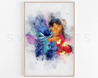 lilo stitch bathroom etsy