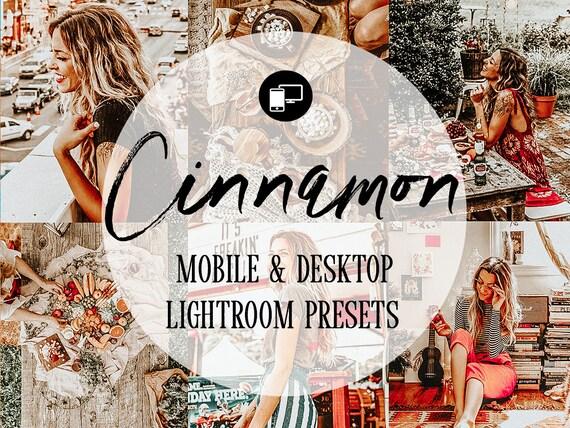 Mobile Lightroom Preset Cinnamon Orange Pumpkin Blogger Travel Lifestyle  Instagram Warm Lightroom Mobile Presets Tones For Bloggers Desktop